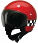 Open Face HCI-15 Red Checkerboard