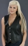 LADIES LACES LEATHER VEST ML 1254N
