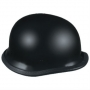 SHINY BLACK NOVELTY HELMET, SMOKEY