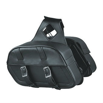TWO STRAPS PVC ZIP-OFF BAG SH 611 ZB