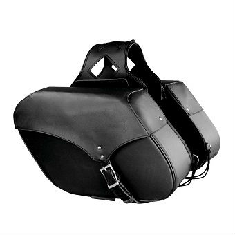 LARGE PVC ZIP-OFF SADDLE BAG SH 667 ZB