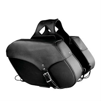 MEDIUM PVC ZIP-OFF SADDLE BAG SH 668.01 ZB