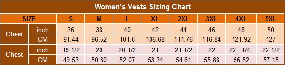 women's-vests-sizing-chart